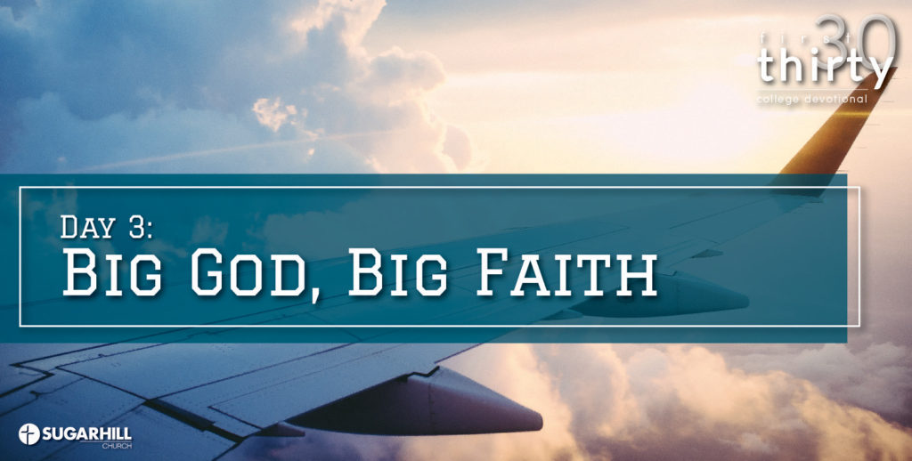 Big God, Big Faith!