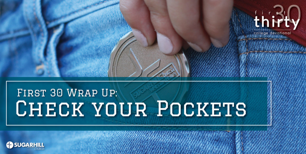Check Your Pockets